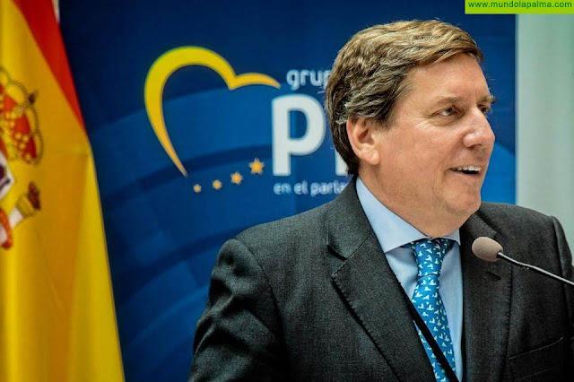 Gabriel Mato insta a la Comisión a mantener los fondos del POSEI en el próximo presupuesto de la UE