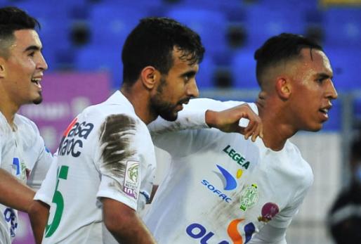 ملخص مباراة الرجاء الرياضي وشباب المحمدية (1-0) اليوم في الدوري المغربي