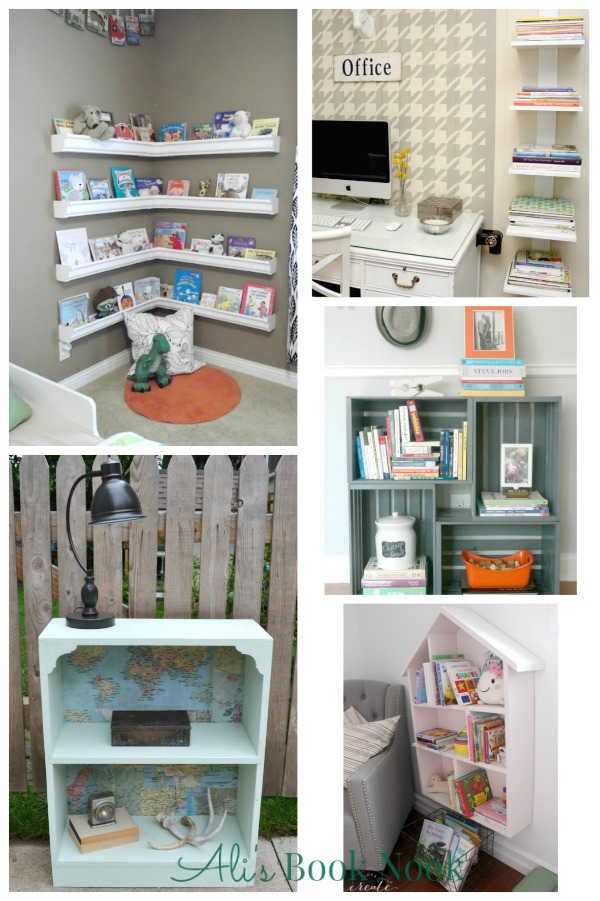 Wondrous 10 Unique Diy Bookshelves For Your Home Library Alis Book Nook Largest Home Design Picture Inspirations Pitcheantrous