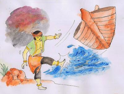 Legenda Sangkuriang dan Asal-Usul Gunung Tangkuban Perahu