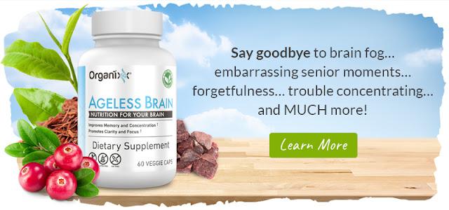 Organixx Ageless Brain