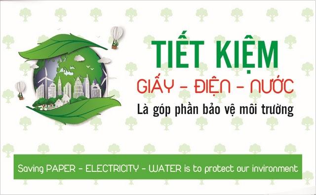 Khi yêu môi trường, bạn trở nên tiết kiệm