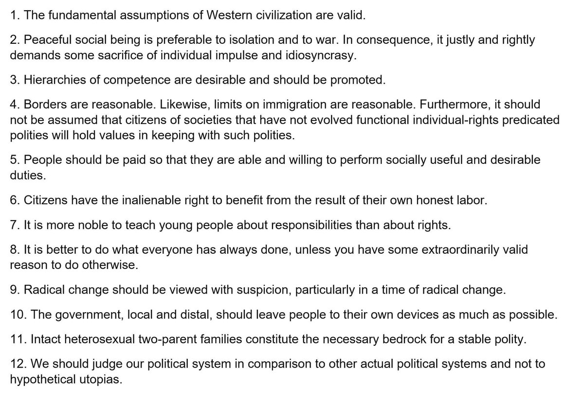 on twitter jordan peterson gives us twelve principles for a 21st century conservatism