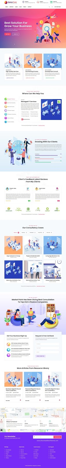 Multipurpose Business And Agency Template