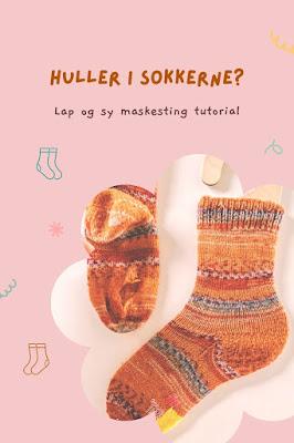 Lær at lappe og stoppe huller i sokkerne