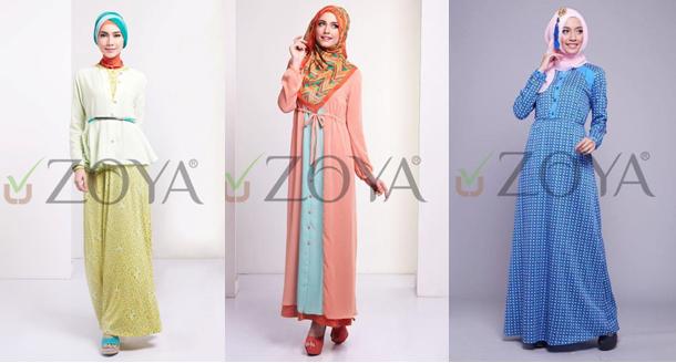 Kumpulan Model Baju Gamis Muslim Modern Cantik Terbaru