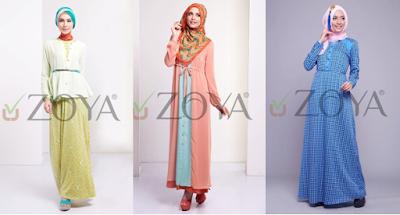 yang kini banyak sekali bermunculan alasannya mungkin style dari beberapa negara di apli Kumpulan Model Baju Gamis Muslim Modern Cantik Terbaru 2018