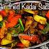 Air- fried Kadai Sabzi/ Aloo Capsicum Sabzi