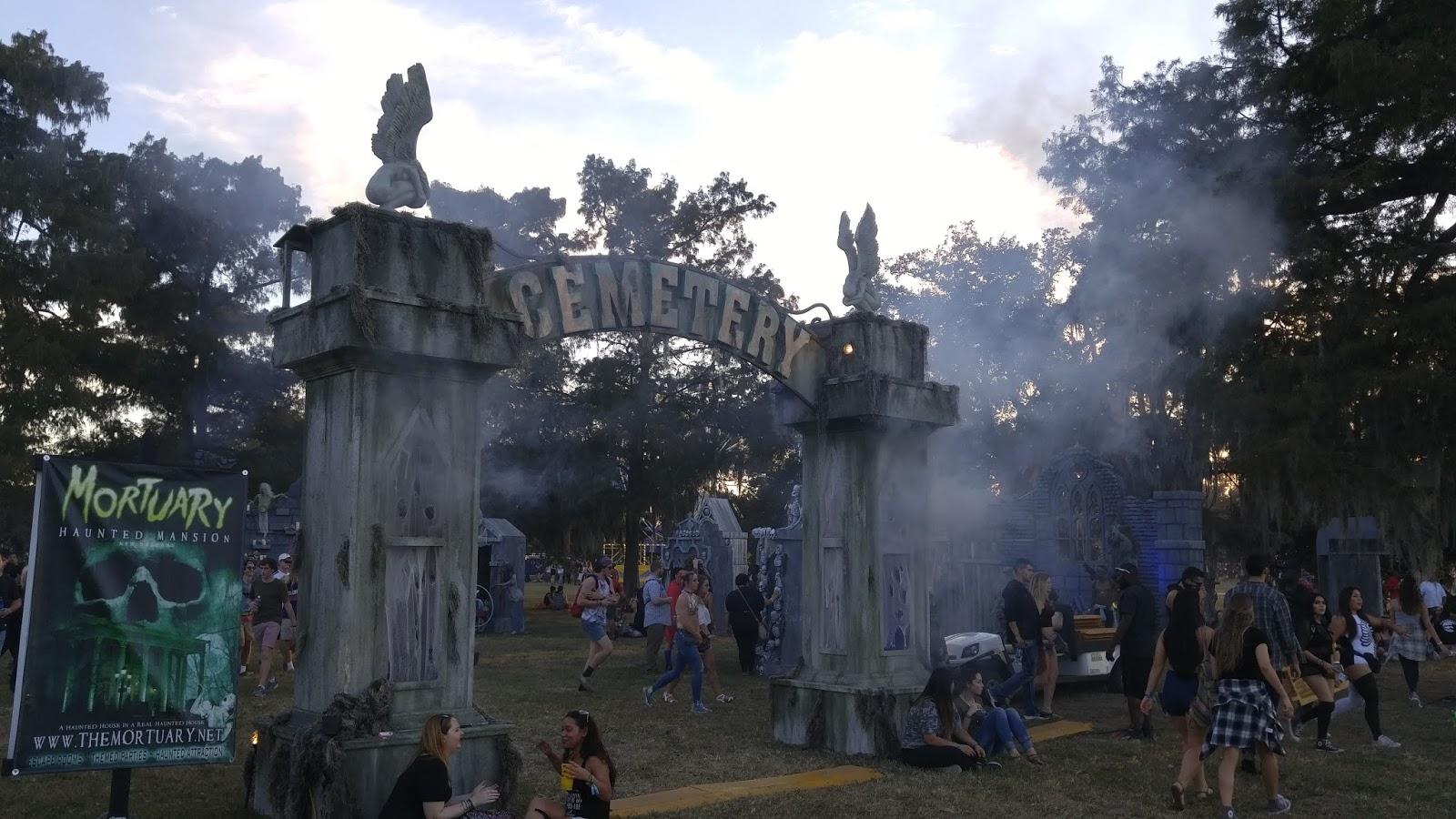 voodoo fest 2016 cemetery