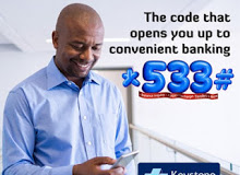Keystone bank launch USSD code for offline mobile banking