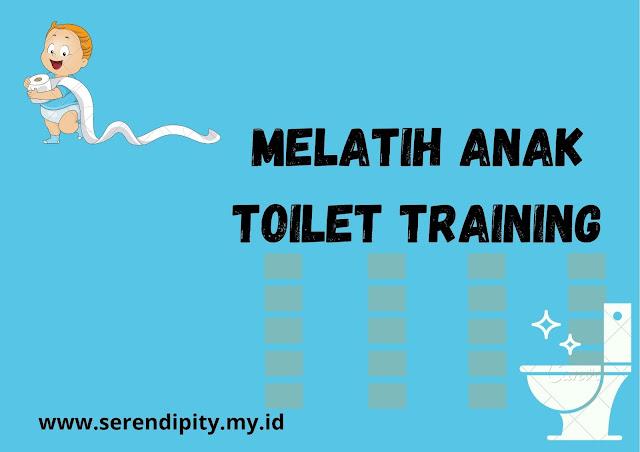 melatih anak toilet training