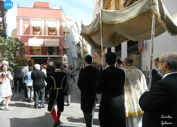 Sin procesión de impedidos de la Sacramental del Sagrario de Sevilla por segundo año consecutivo