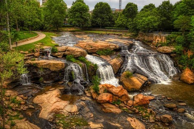 Reedy River at South Carolina