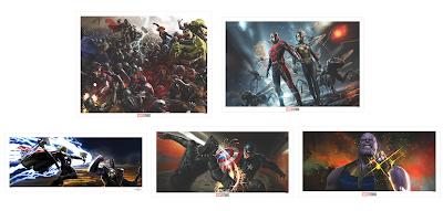 Concept Art of the Marvel Cinematic Universe Fine Art Prints by Grey Matter Art
