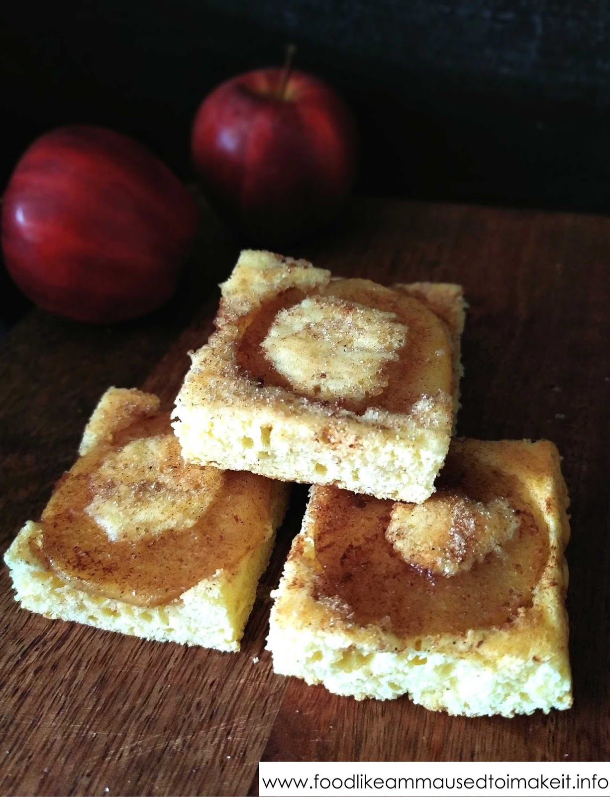 Apple Sponge Tart Recipe