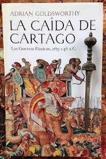 Portada del libro La caída de Cartago, de Adrian Goldsworthy