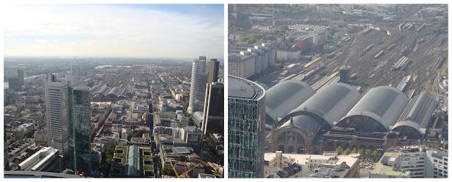 Frankfurt vista da Main Tower