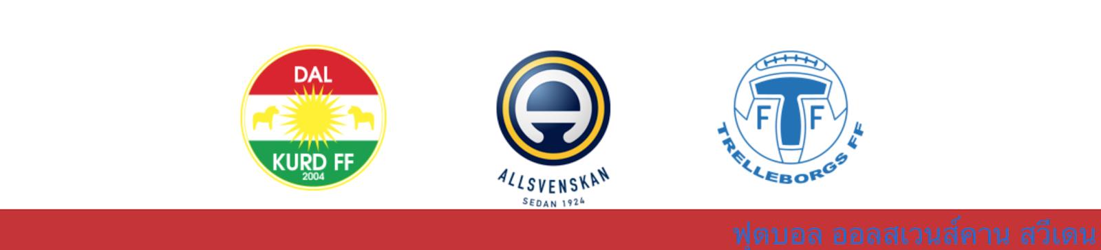 ผลบอล วิเคราะห์บอล สวีเดน ระหว่าง ดัลเคิร์ด vs เทรลเลบอร์ก