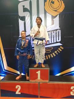 Daniele Kaori conquista medalhas no Campeonato Sulamericano de Jiu Jitsu Esportivo