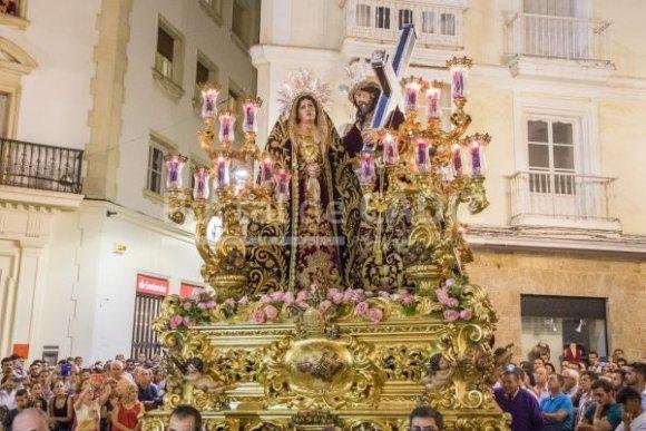 Cambio en el itinerario de Afligidos para el Jueves Santo 2020 de Cádiz