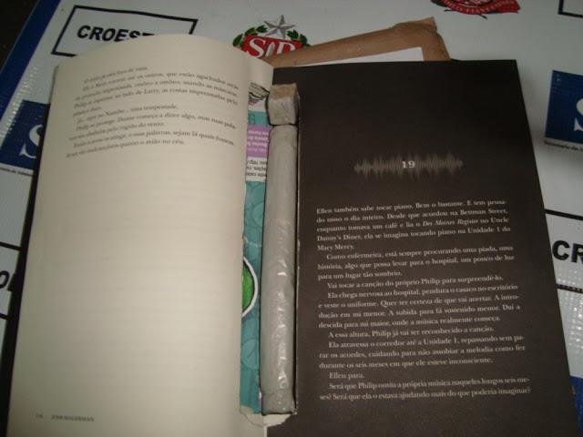 Droga escondida entre páginas de livro é localizada durante vistorias em penitenciárias do Oeste Paulista