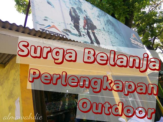 Zafran, Surga Perlengkapan Outdoor di Bandung