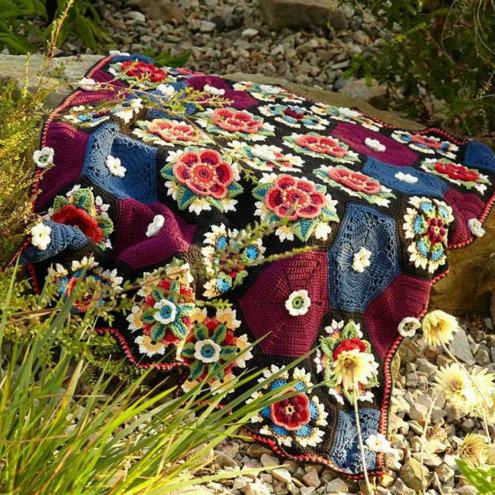 Lindevrouwsweb Stylecraft Fridas Flowers CAL 2016