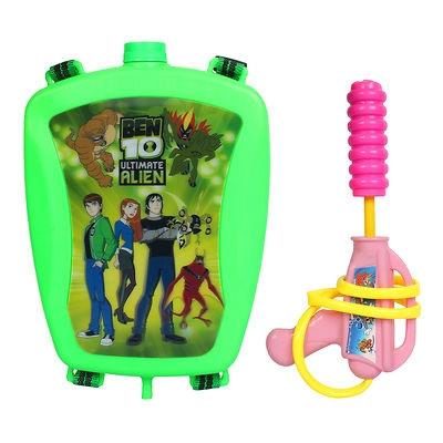 Holi Water Gun Back Pack Cartoon Tank Squirter