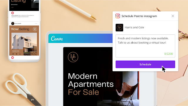 Canva Brings Instagram Scheduling and Design Tools to One Platform