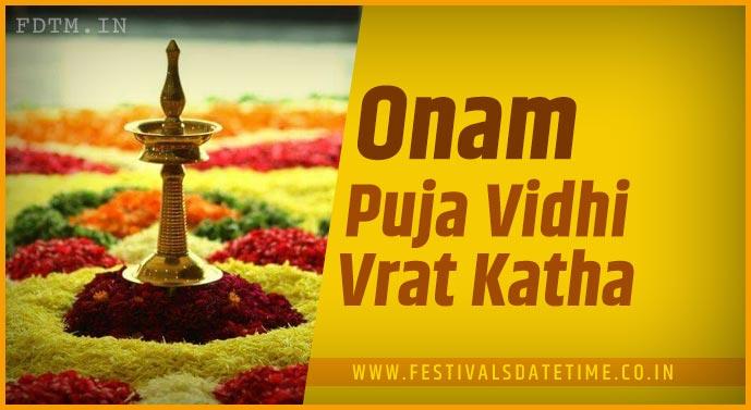 Onam Puja Vidhi and Onam Puja Katha