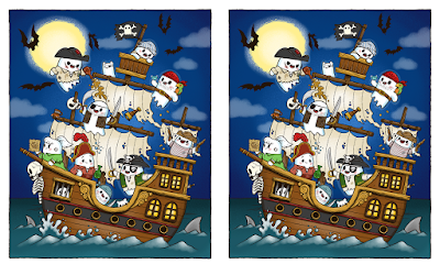 """Tiny Ghost """"Avast Me Ghosties"""" Timed Edition Giclee Print by Reis O'Brien x Bimtoy"""