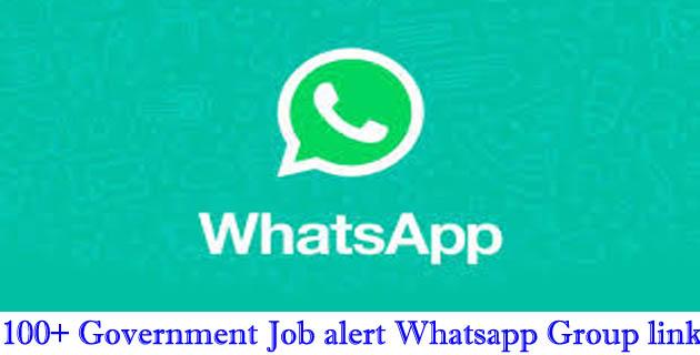 Government Job alert Whatsapp Group links