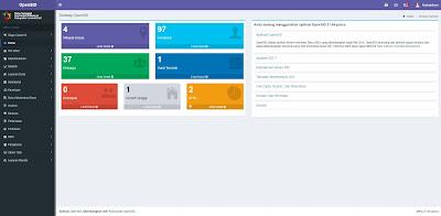 Halaman Administrator - Sistem Informasi Desa OpenSID Berbasis Web