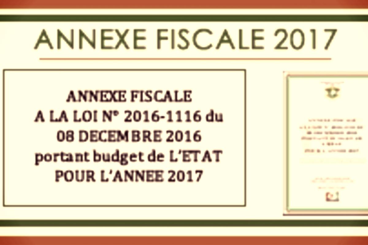 L'annexe fiscale 2017 présente d'importantes innovations en faveurs des entreprises ivoiriennes