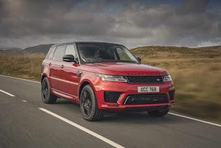 Range Rover Sport: Vehicle Highlights