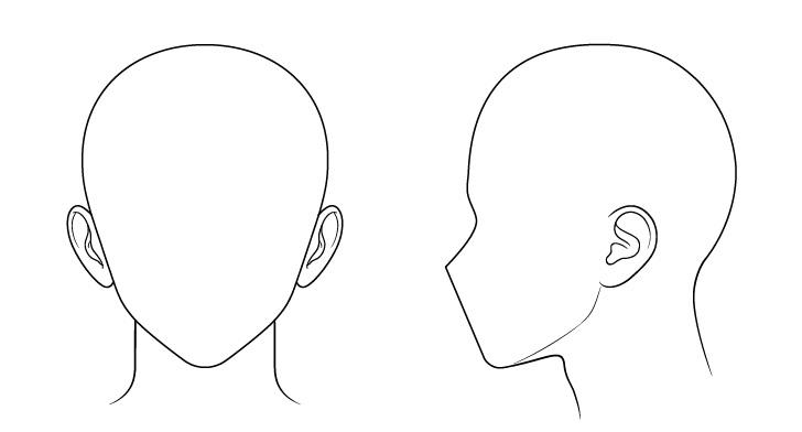 Gambar telinga laki-laki Anime gambar dalam