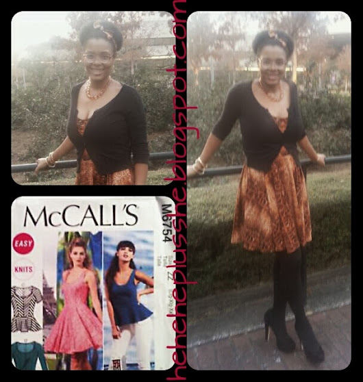One Wild Experience: McCall's M6754