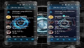 Aplikasi Merubah Tampilan Tema BBM Android Menjadi Keren