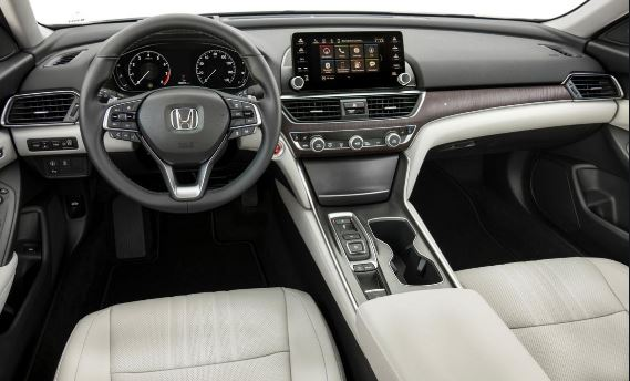 10th Generation Honda Accord 2019 Interior View Front Cabin