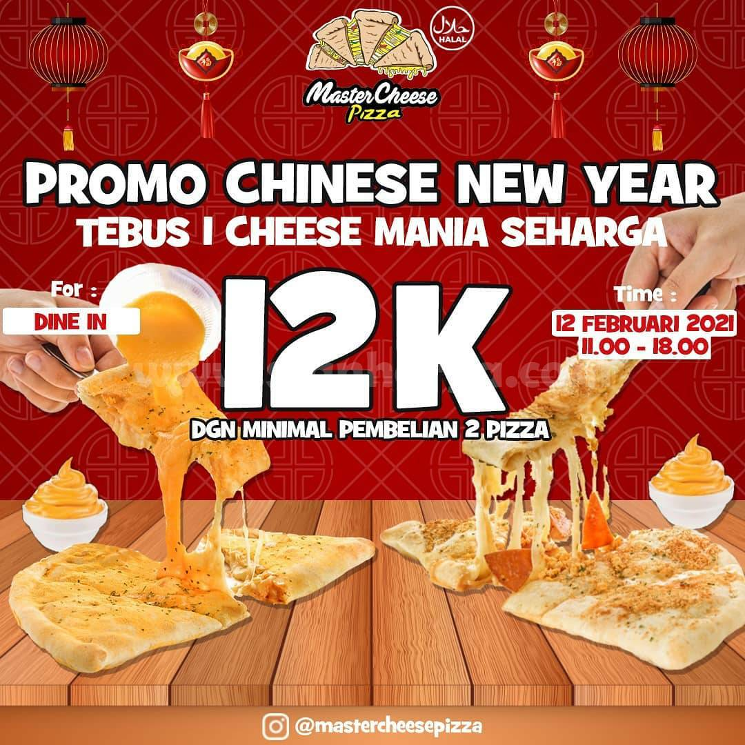 MasterCheese Pizza Promo IMLEK! TEBUS PIZZA Hanya Rp 12.000 aja