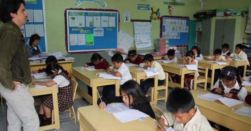 ECE 2016: Alumnos de primaria y secundaria lograron avances en matemática, según resultados en la Evaluación Censal de Estudiantes - MINEDU - www.minedu.gob.pe