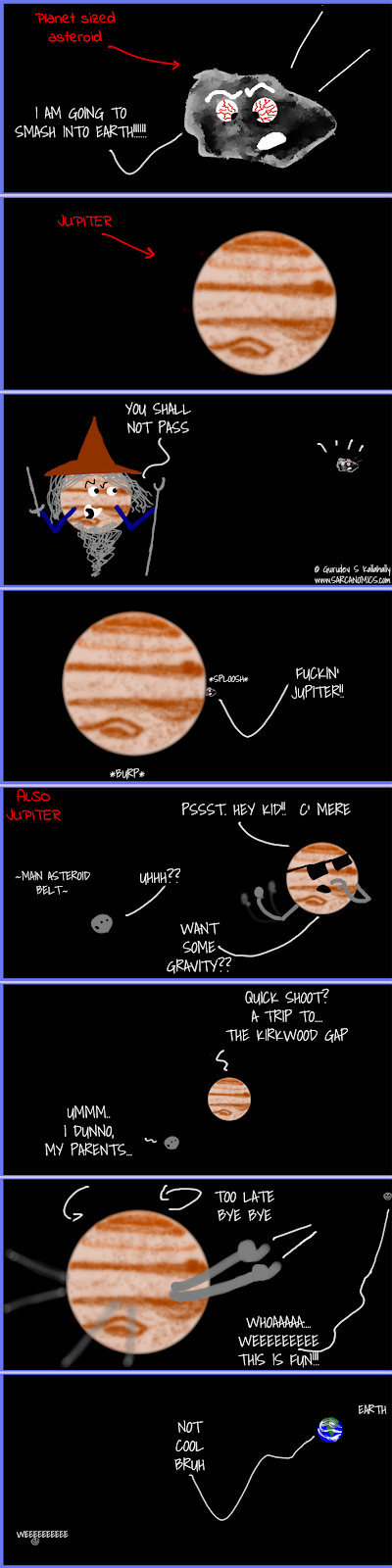 Jupiter and The Kirkwood gap