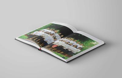 Contoh Desain Buku Tahunan Sekolah