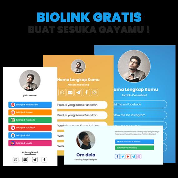 Alternatif Bio Link Gratis Terbaik Selain Linktree di Indonesia