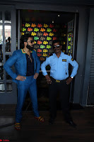 Ranveer Singh in Blue Blazer Spotted Life Bar ~  Exclusive 05.JPG