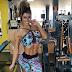 Treino de abdômen da atleta Wellness Vivian Cristinelle