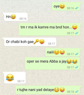 Really funny Indian whatsapp chats images in hindi - Whatsapp Status
