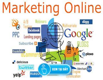 Tư Vấn & Nhận Dự Án Marketing Online