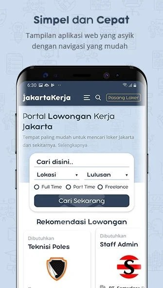 aplikasi LOKER SEMARANG – Lowongan Kerja Semarang