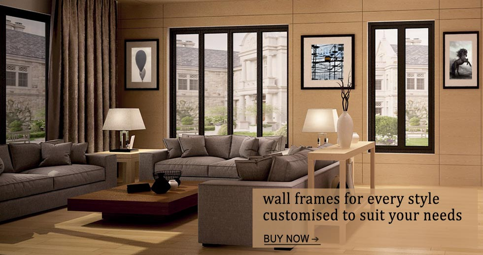 Custom Wall Frames